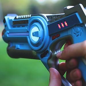 vestless laser tag