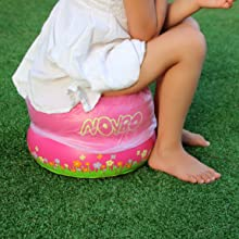 inflatable training potty