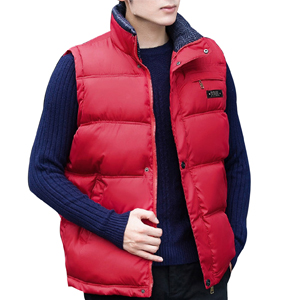 Zoulee New Couple Vest Large Size Winter Men Cotton Vest with Hooded