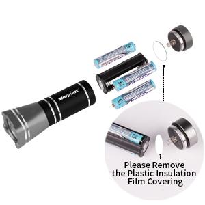 larger led flashlight