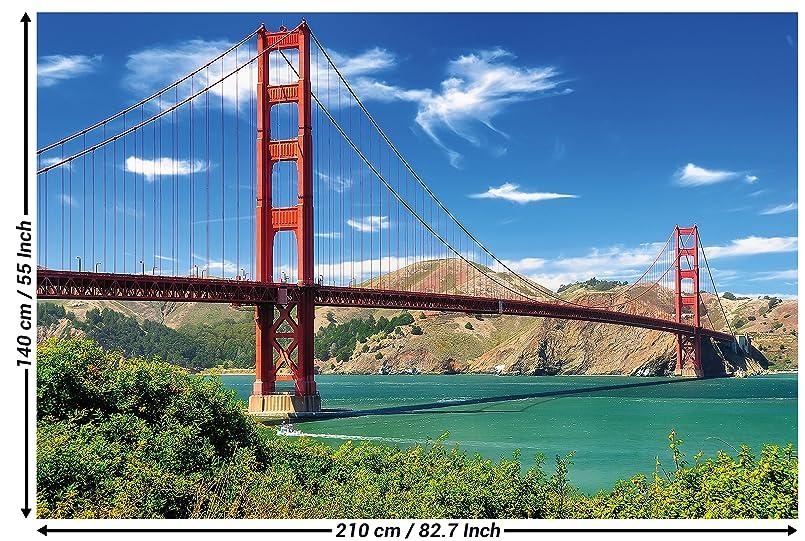 Golden Gate Bridge Photo Wallpaper San Francisco Bridge Emblem