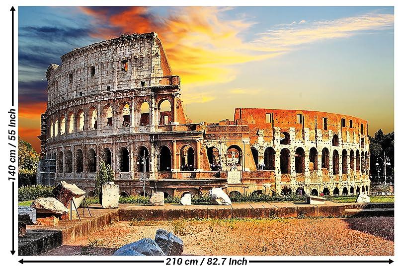 Amazoncom Collosseum Photo Wall Paper Amphitheatre Colosseo Mural