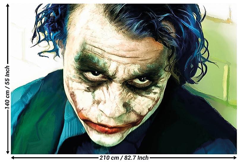 Amazoncom Joker The Dark Knight Batman Film Comic Wall Paper Wall