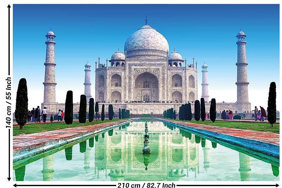 Amazoncom Taj Mahal Wall Art Decoration Wallpaper Taj Mahal