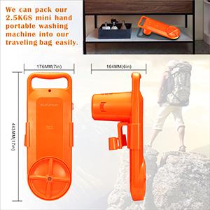lightweight portable washing machine and travel size washing machines
