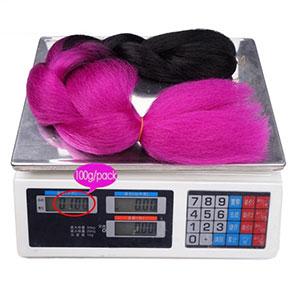 ombre braiding hair kanekalon