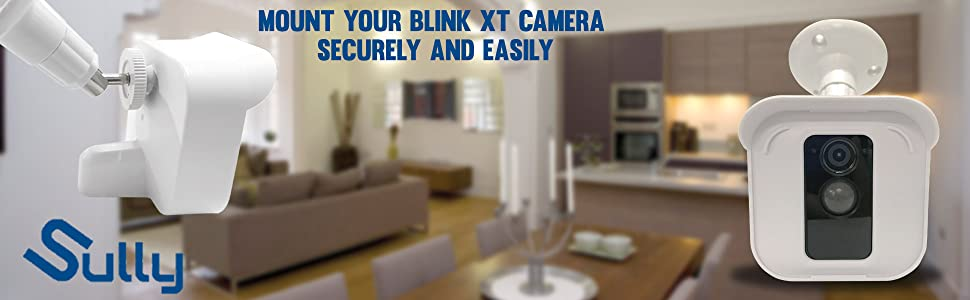Blink XT camera hard easy to install hard case wall ceiling mount white black