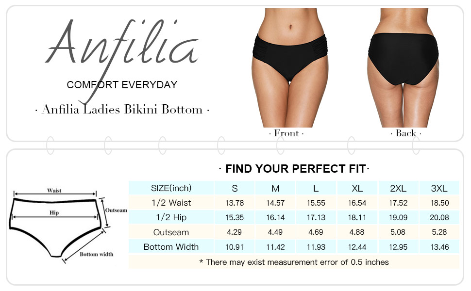 5cd515ed073ac Amazon.com  anfilia Women s Cut Out Bikini Bottoms Strappy High ...