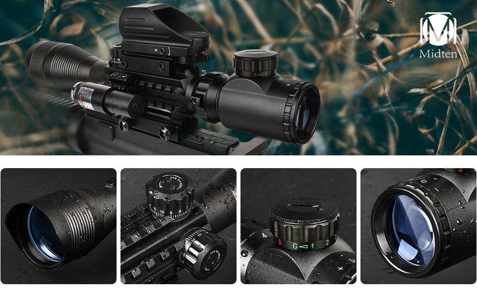 4-12x50 scope optics