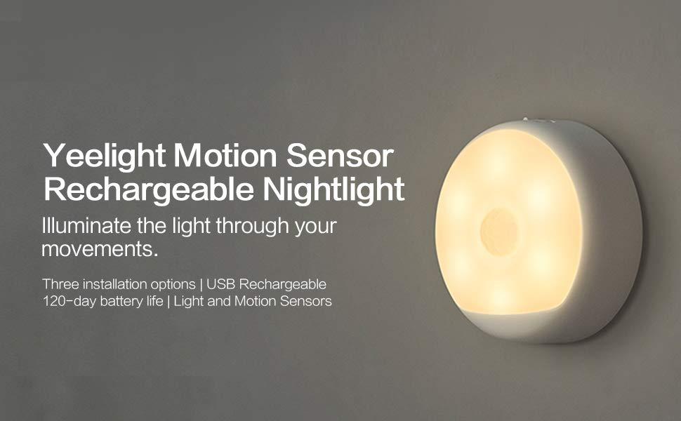 Motion sensor night light