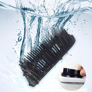 Massage comb for hair loss