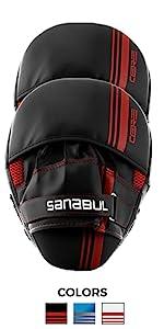 Sanabul Core Series Punch Mitts