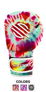 Sanabul Funk Strike Tie Dye Boxing Gloves
