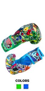 Sanabul Sticker Bomb Kids Gloves