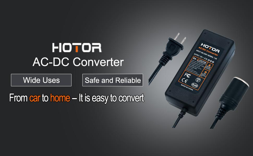 Amazon.com: Convertidor de CA a CC, HOTOR 8,5 A 100 W 110 ...