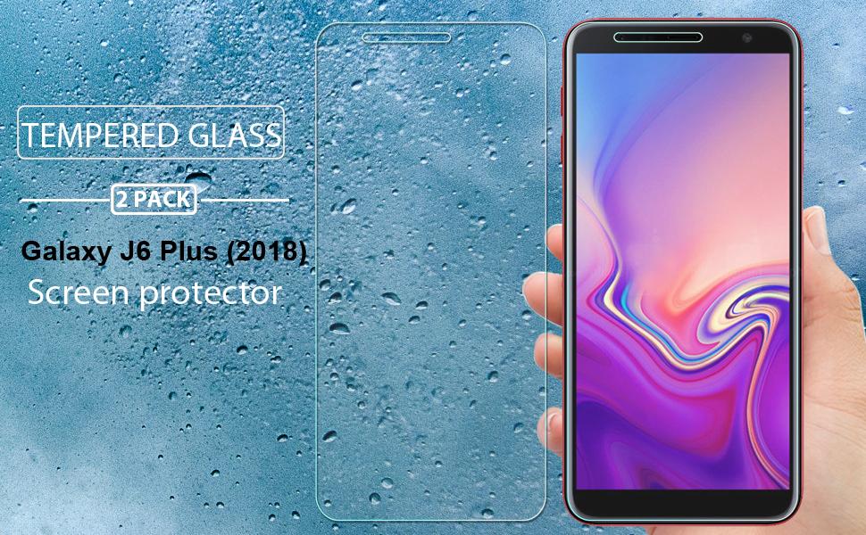 ZHANGYUNSHENG 25 PCS for Galaxy J4+ Fingerprint Proof Full Screen Tempered Glass Film zys J6
