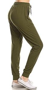 Solid Jogger Pants
