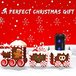 Christmas gift bluetooth speakers outdoor portable waterproof loud bocinas