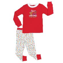 281397ea88 Sleepyheads Kid s Christmas Lights Knit Family Matching Pajamas Christmas  Holidays PJs red green