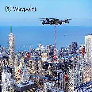 Contixo F22 Quadcopter Foldable Drone