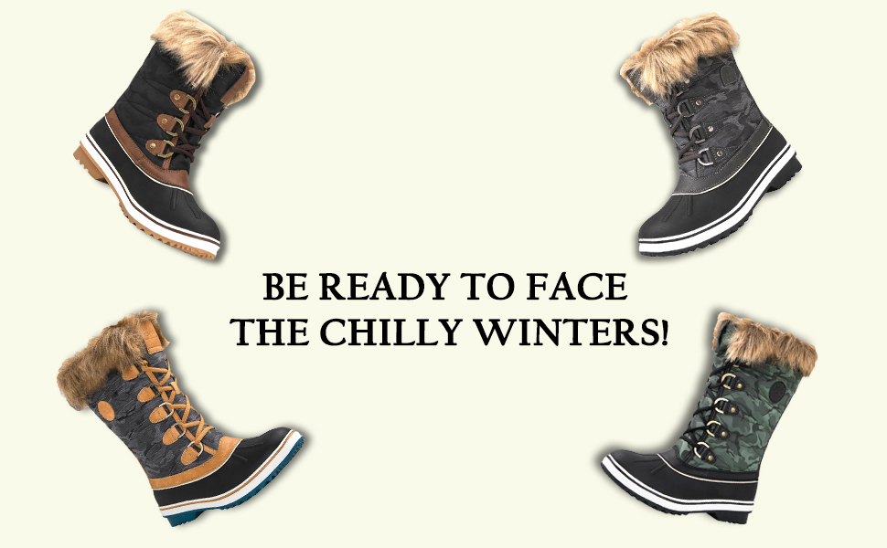youth rain hunting snow hiking snow-boots low kids man girl white waterproof