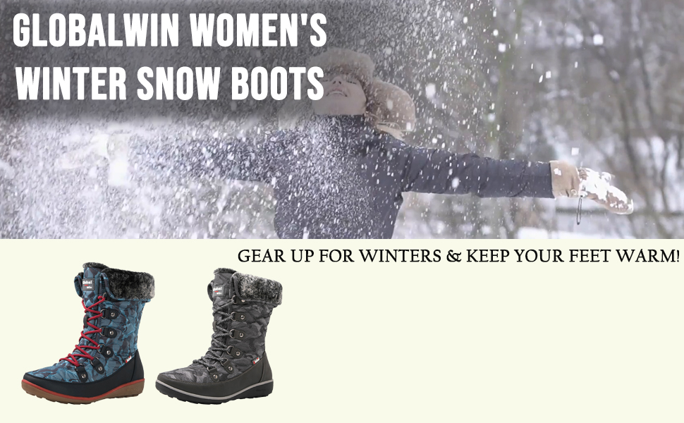 boot woman leather cute tall black youth rain hunting snow hiking snow-boots