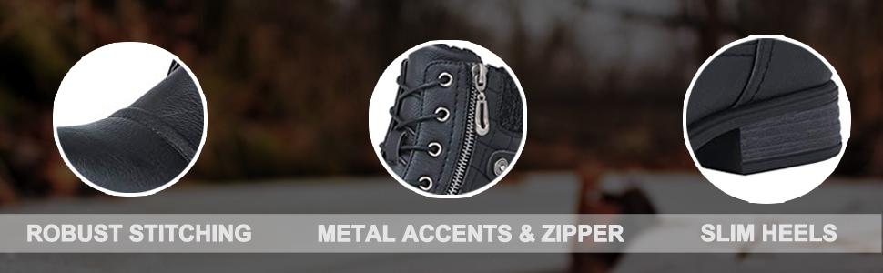 kids man girl white waterproof mid adult high leather faux sole comfortable heel fur slip on metal