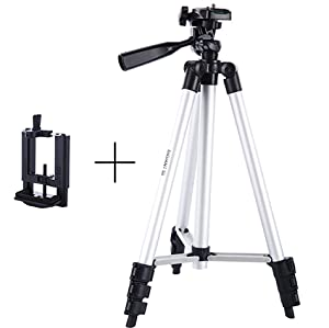Amazon.com: DIGIANT 50 Inch Aluminum Camera Phone Tripod+ ...
