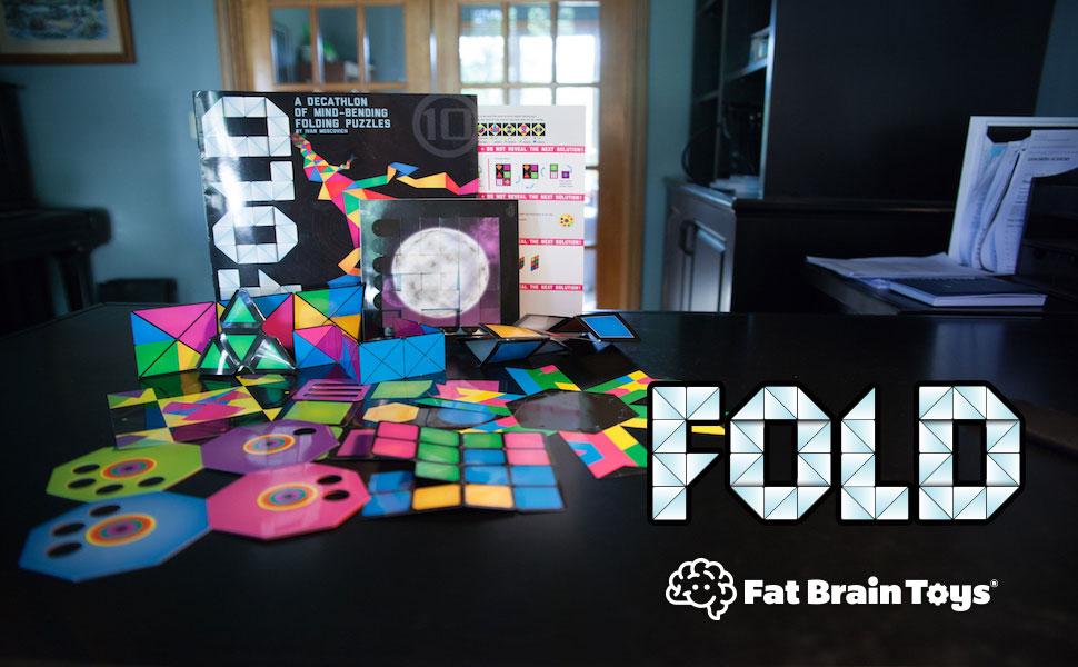 Amazon.com: Fat Brain Toys FOLD: Origami Brainteaser: Toys
