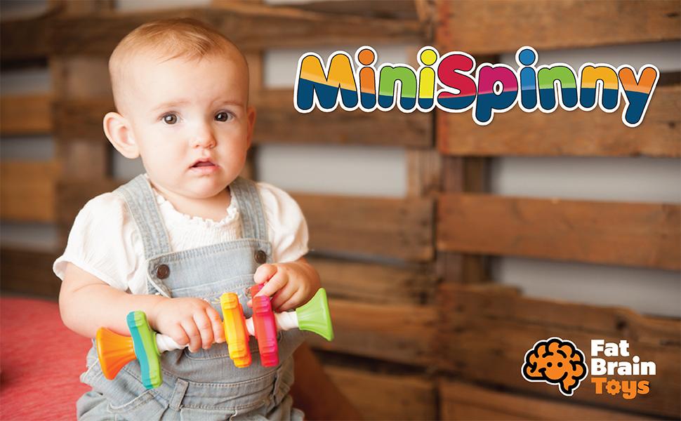 Amazon.com: Fat Brain Toys MiniSpinny: Toys & Games