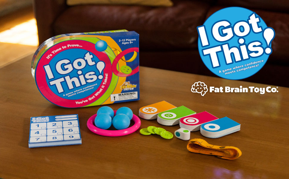 Amazon.com: Fat Brain Toys I Got This! Juego: Toys & Games