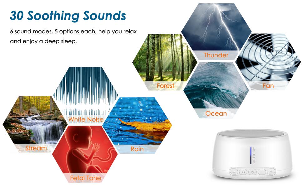 white noise sound machine for sleeping