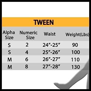 Tween leggings