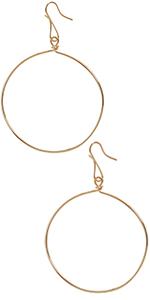 Humble Chic Leaf Dangle Earrings - Statement Filigree Dangling Lightweight Boho Vintage-Style Drops