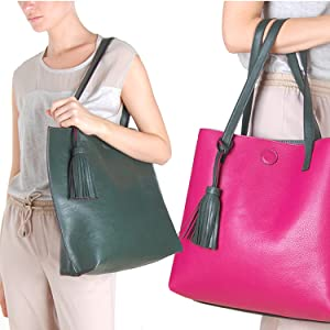 YHDNCG Soft Wallet Women Tote Bag