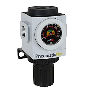 Pneumaticplus PPR3-N02BG Compressed Air Pressure Regulator