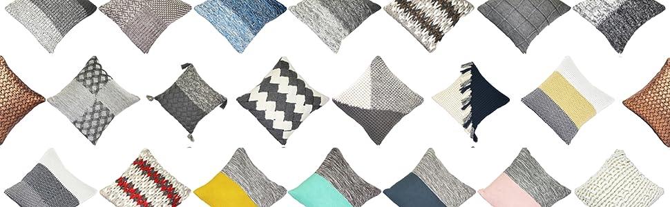 Hygge Knit Pillows by PILLOW DÉCOR