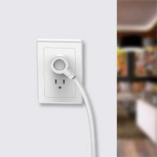 power strip flat plug