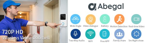 Abegal Smart Video Doorbell