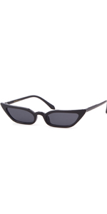 a23772c93e5 Vintage Retro Cat Eye Sunglasses Small Designer Clout Goggles Glasses for  Women · Vintage Oval Cat Eye Sunglasses Narrow Mini Skinny Slim Round Clout  ...