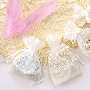 Amazon.com: WRAPAHOLIC bolsa de regalo de arpillera con ...