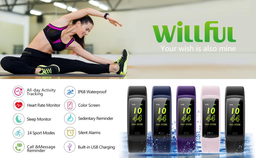 willful fitness tracker