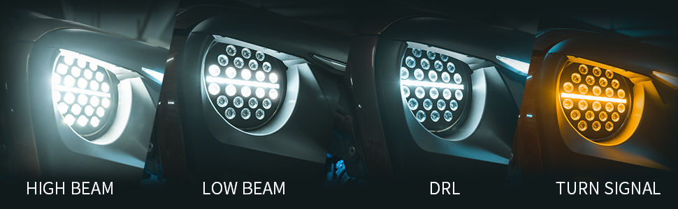 jeep led headlights