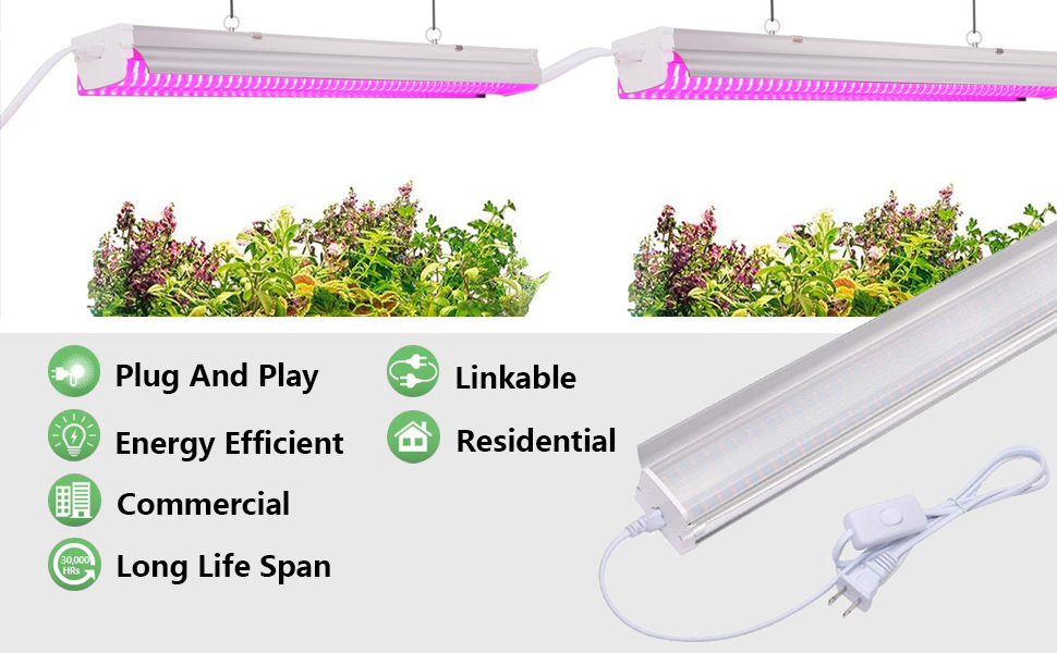 4ft led grow light fixture