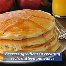 whirl, pancakes, butter, breakfast