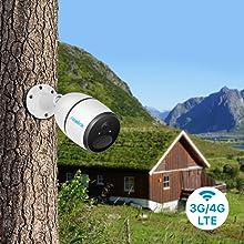 4G LTE security camera