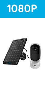 Argus pro and solar panel