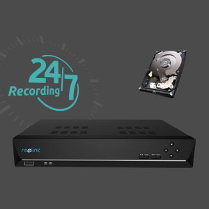 SD Card or Reolink NVR - Flexible Recording