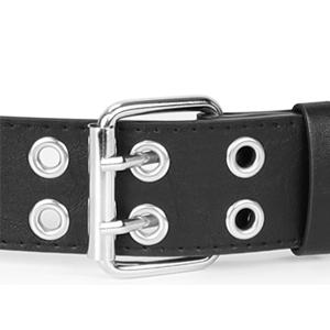 double grommet belt
