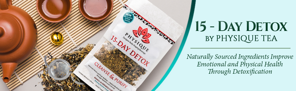 15 Day Total Body Cleanse and Weight Loss Tea Anti-Inflammatory Laxative Free Teatox Detox Diet